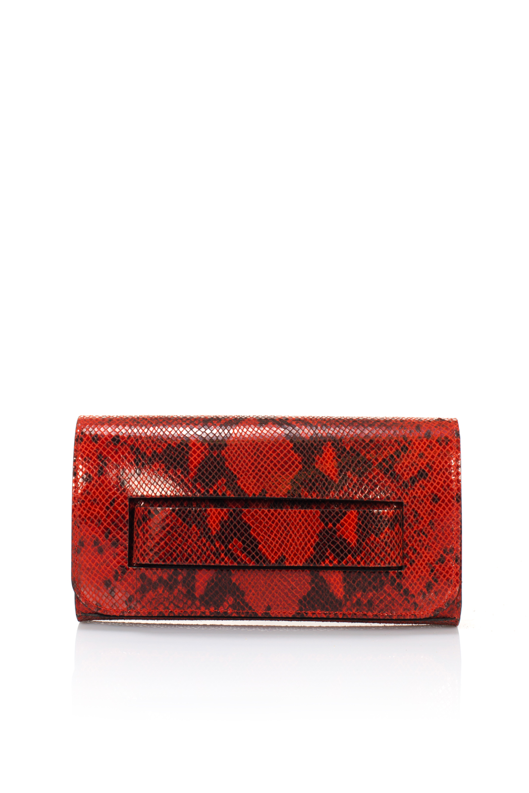 ALTHEA・PRINTED SUEDE・RED